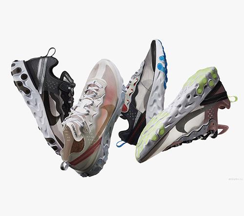 Nike představuje tenisky React Element 87 odkazující se na design z 80. let