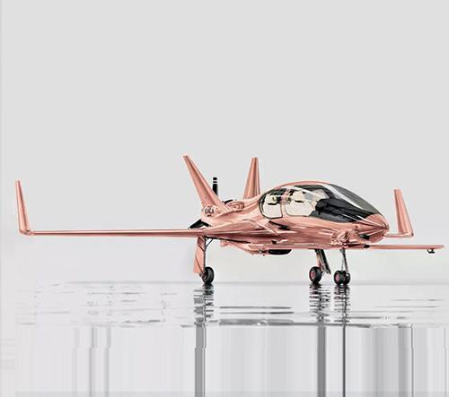 Cobalt Valkyrie X je luxusní soukromé letadlo z kalifornské dílny
