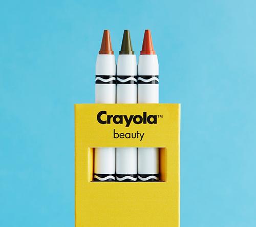 Crayola představuje speciální kolekci make-up pastelek