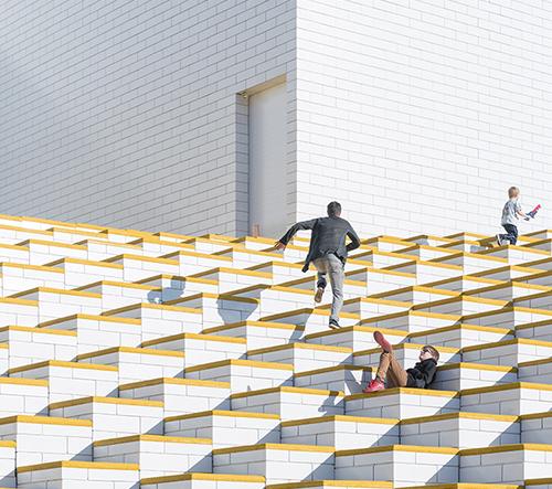 Iwan Baan fotografuje LEGO dům v Dánsku