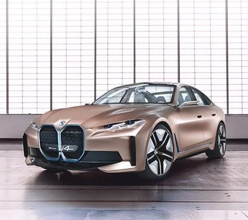 BMW představilo koncept prvního sportovního elektromobilu