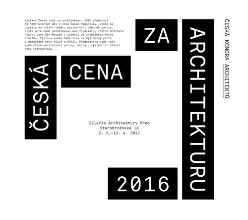 V Brně vystavují to nejlepší z české architektury