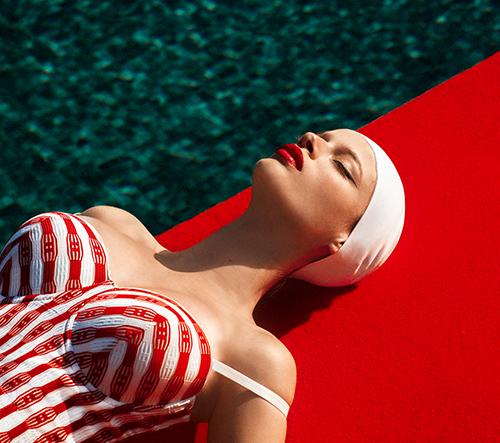 Bývalá modelka Elena Iv-skaya se rozhodla stát na druhé straně kamery