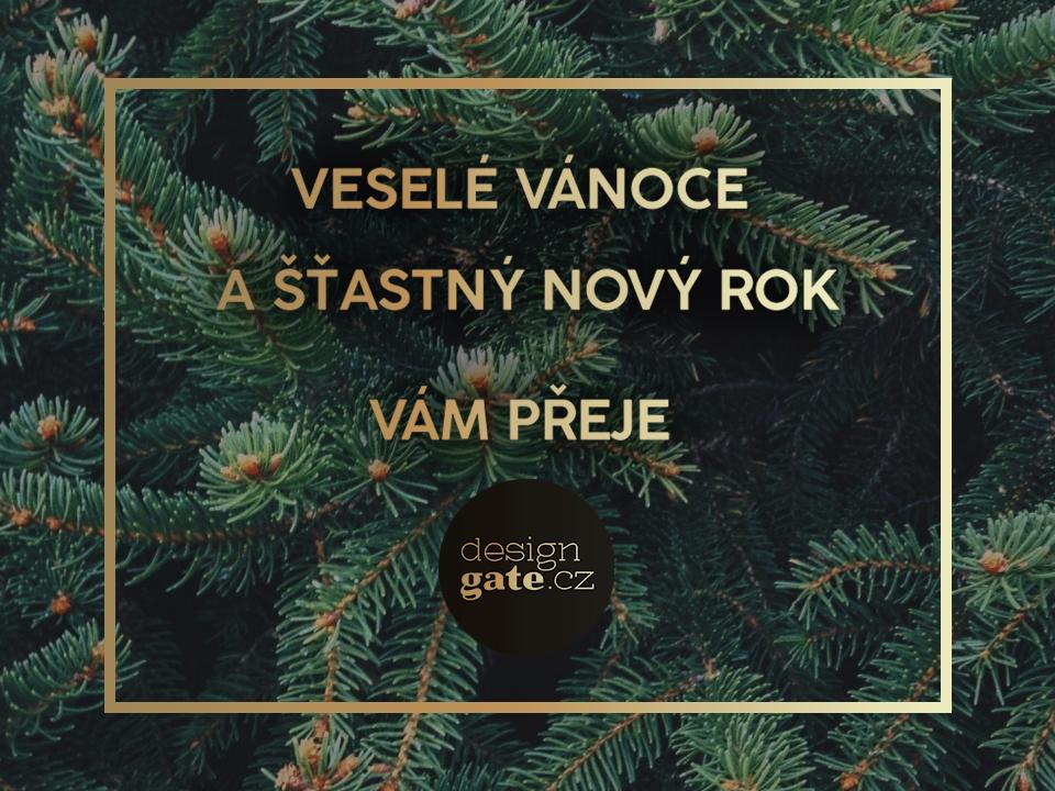 Veselé Vánoce a štastný nový rok Vám přeje Váš designGATE.cz!