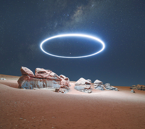 Ruben Wu fotí snové krajinné scenerie s uměleckým osvětlením