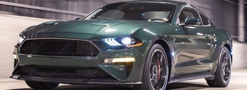 Ford představil limitovanou filmovou verzi sporťáku Mustang Bullitt