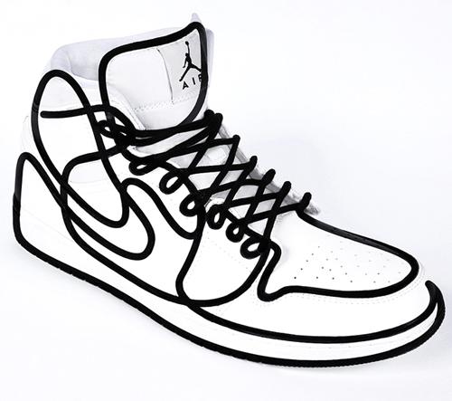 Kreativní duo DFT mění NIKE Air Jordan na surrealistické doplnky