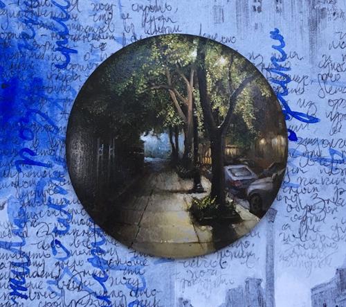 Dina Brodsky dokumentuje svůj život pomocí miniaturních maleb