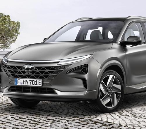 Hyundai dokončilo samořídící model Nexo s elektrickým pohonem na vodík
