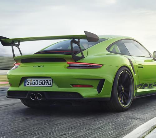 Porsche 911 GT3 RS je nejrychlejší model značky určený i na běžné silnice