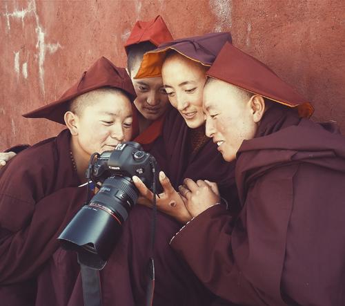 Giacomo Bruno zachycuje život v Tibetu