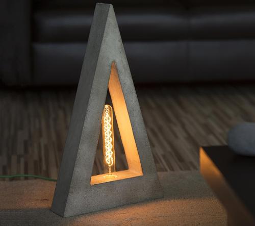 Slovenská značka Concrete Top Solutions navrhuje svítidla a doplňky z betonu