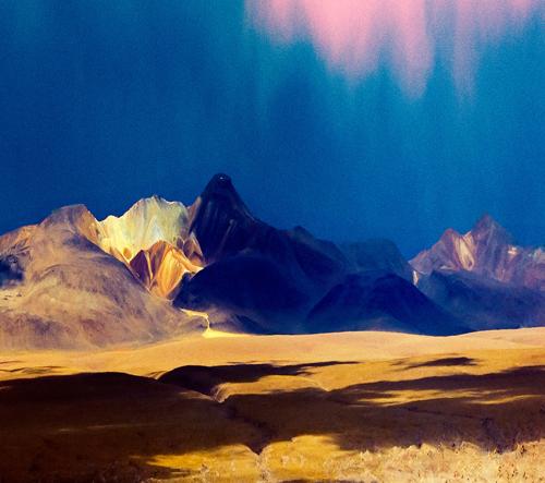 Posedlost barvami v kombinaci s láskou k přirodě vedla umělce k cestám po světě
