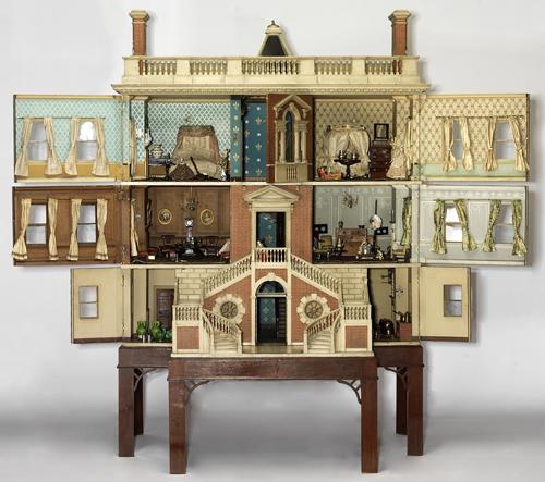 Praha vystavuje domečky pro panenky z londýnského Victoria and Albert Museum