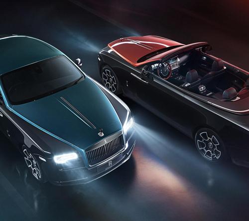 Rolls-Royce Adamas Collection jsou ještě temnější modely pro milovníky karbonu