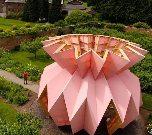 Studio Morison navrhlo origami ananas