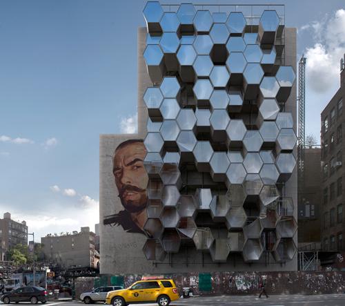 Framlab navrhli New Yorku systém buněk Homed pro lidi bez domova