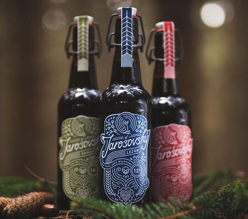 Jarošovské pivo získalo dvě ceny za design na World Beer Awards