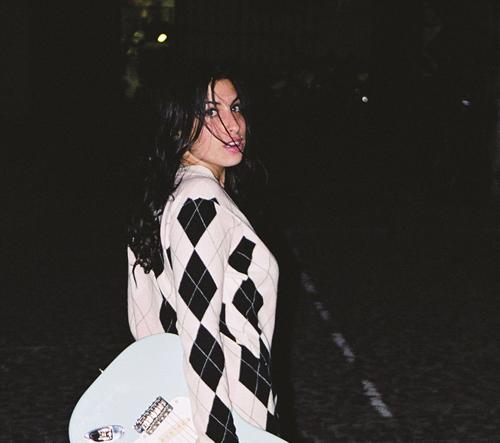 Fotografie mladé Amy Winehouse před její slávou