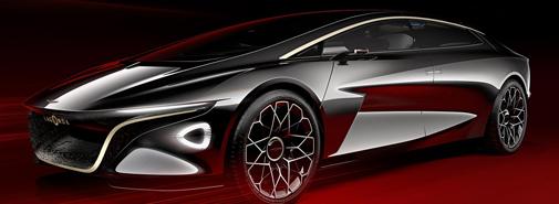 Aston Martin naznačil budoucnost luxusních vozů konceptem Lagonda
