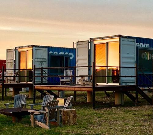 Flophouze nabízí ubytování v lodních kontejnerech