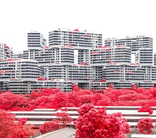Finbarr Fallon mění Singapur na surrealistickou scénu