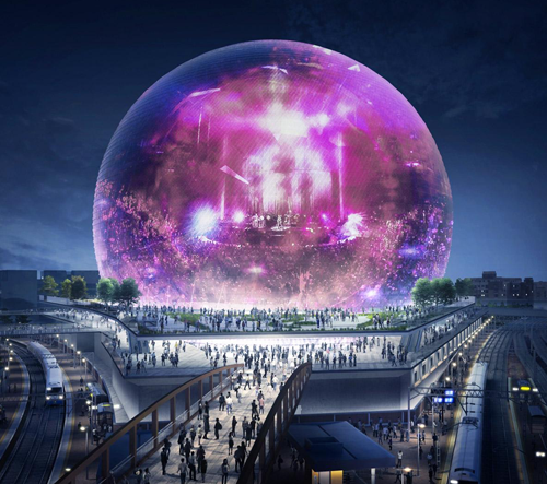 Londýn postaví skleněnou kouli speciálně navrženou pro koncerty a kulturní akce