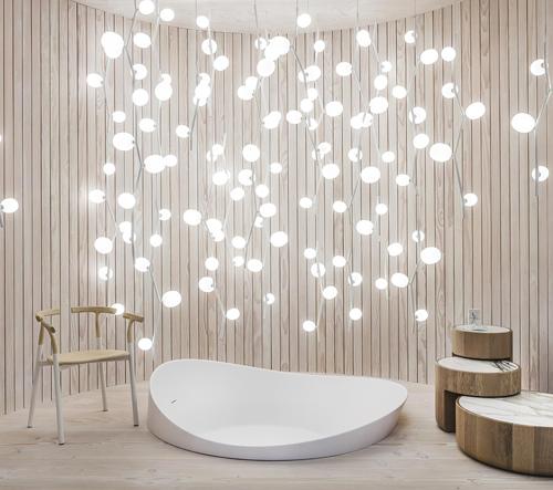 Lucie Koldová vytvořila dům Das Haus plný nových svítidel a nábytku