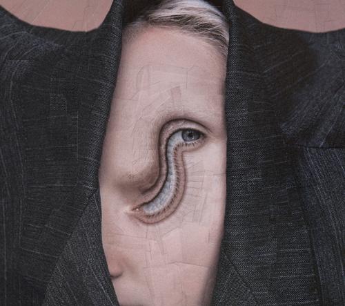 Okouzlující nové koláže od Loly Dupré deformují lidskou formu