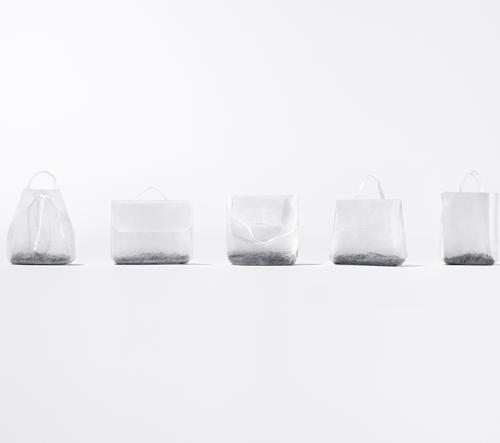 Čajové sáčky, které vypadají jako kabelky od návrhářů