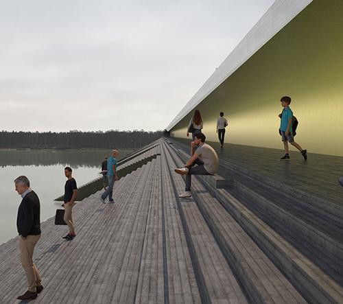 Erik Andersson promění švédský most na místo zhromažďovaní místní komunity