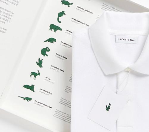 Lacoste změní své logo na podporu 10 ohrožených druhů
