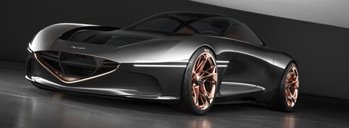 Genesis navrhl nový prototyp elektrických sportovních vozů