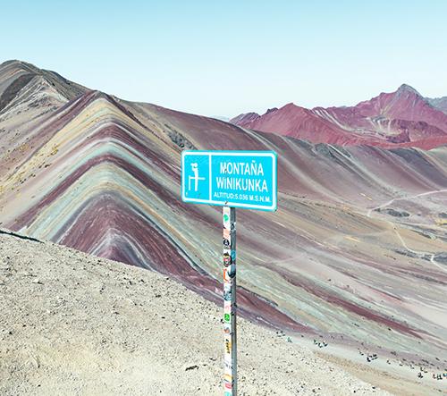 Paolo Pettigiani nafotil snové fotky Červeného ůdolí v Peru