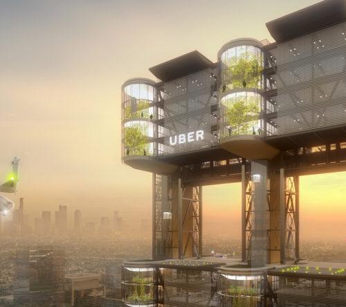 Uber bude mít v roce 2023 dopravní vznášedla a speciální Skyporty
