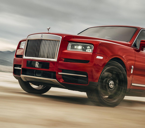 Rolls-Royce odhalil Cullinan a představil tak nejluxusnější SUV na světě