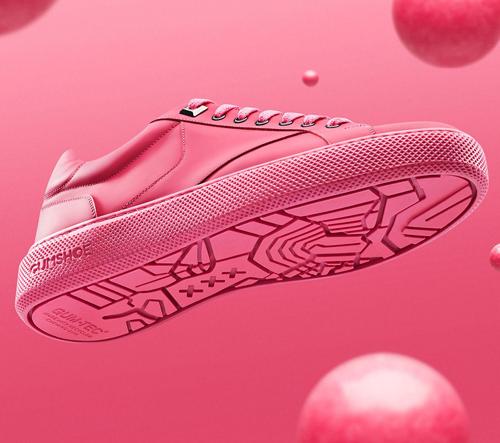 Gumshoe jsou první boty na světě vyrobené z recyklovaných žvýkaček