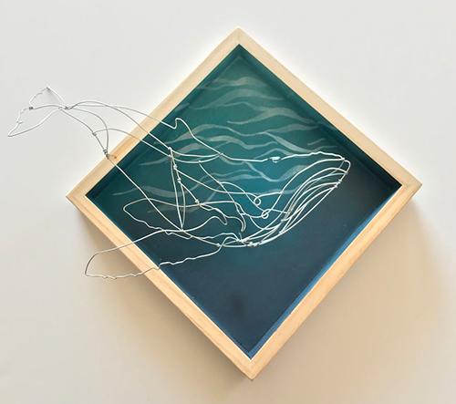 Alison Brynn vytváří na počest přírodě drátěné modely zvířat
