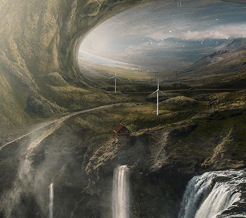 Alper Suzgun vytváří překvapivé světy díky fotomanipulacím