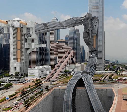 Studio AUJIK přetváří moderní velkoměsta ve hravou futuristickou podívanou