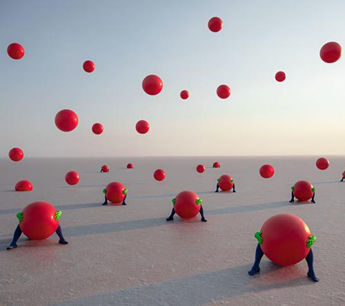 May Parlar představuje surrealní sérii fotografií inspirovanou odloučením a sounáležitostí