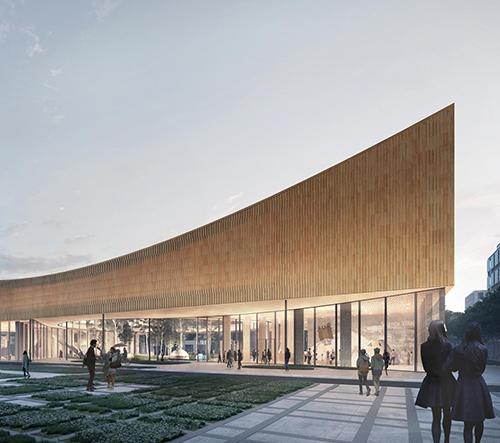 Cobe postaví ve Švédsku první CO2 neutrální muzeum na světě