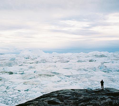 André Terras Alexandre fotí kouzelné výhledy v Grónsku