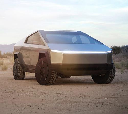 Tesla představila nový elektrický vůz Cybertruck