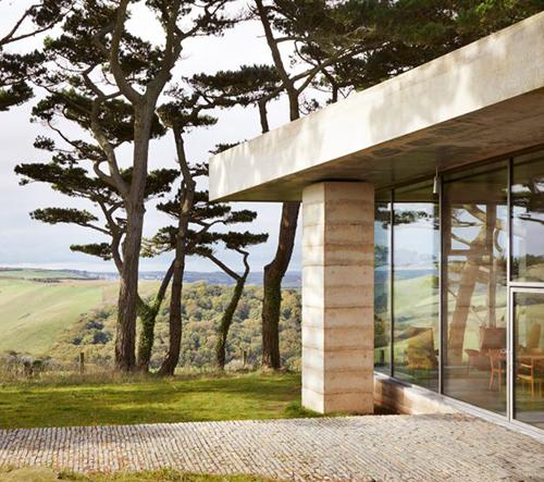 Peter Zumthor dokončil stavbu vily inspirované principy Palladia