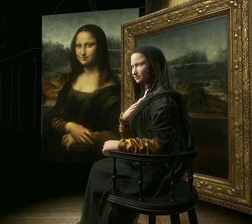 Louvre nechal vymodelovat obraz Mona Lisa ve 3D a virtuální reality