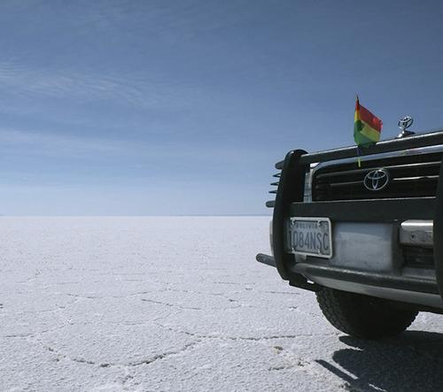 Anke Nunheim nás bere na výlet přes Bolivií
