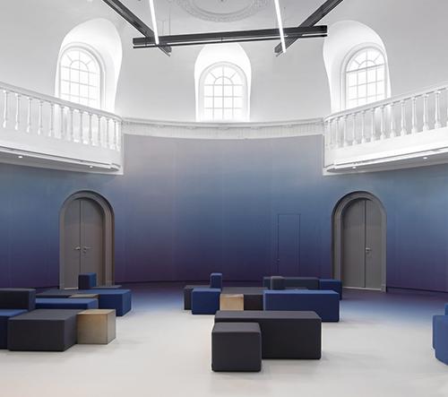 Studio i29 redesignovalo interéry legendární amsterdamské budovy od Felixe Meritise