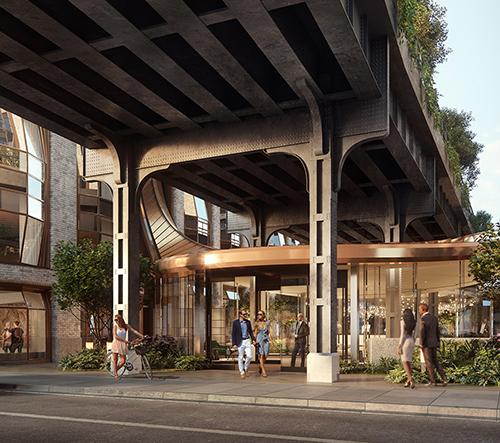 Heatherwick Studio navrhlo v Londýně skleněné propojující lobby