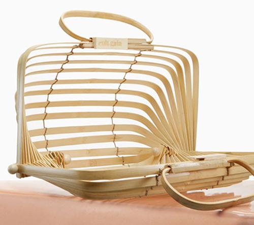 Lilleth Bag je bambusová skládací kabelka na cesty